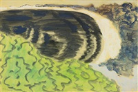 crescent beach by milton avery