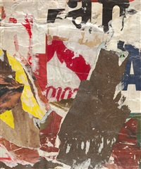 lettere nascoste by mimmo rotella