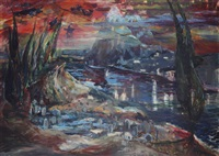 bosphors with cypress by murat akagunduz