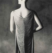 vionnet lampshade dress by irving penn