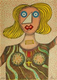 swedish lady by enrico baj