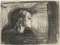 the sick child i by edvard munch