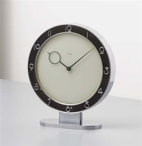 desk clock by heinrich möller