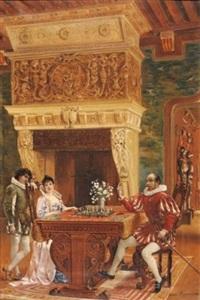 la partie d'échecs by charles albert pesnelle