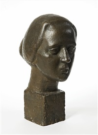 woman's head by wäinö aaltonen