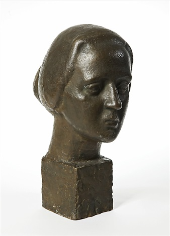 womans head by wäinö aaltonen