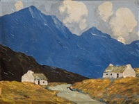 cottages in the west by paul henry