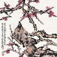 梅石图 by jia guangjian