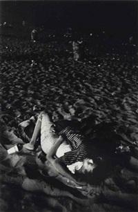 coney island, 4th july, 1958 by robert frank