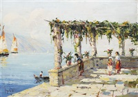 terace in sorrento by rudolph negely