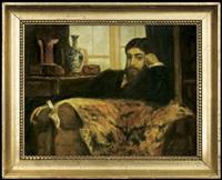 men's portrait by stanislaw lentz