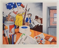 independence by robert ballagh