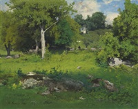 a june day by george inness
