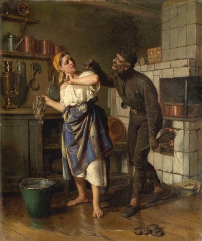 chimney sweep by firs sergeyevich zhuravlev