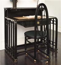 desk, model no. 500/6 by josef hoffmann