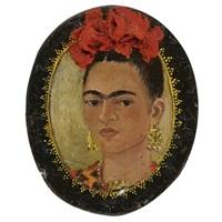 autorretrato by frida kahlo