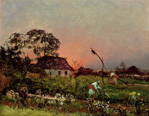 on the farm by nikolai nikanorovich dubovskoy