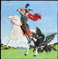 san giorgio e il drago by salvo