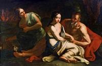 loth und seine töchter by franz carl remp