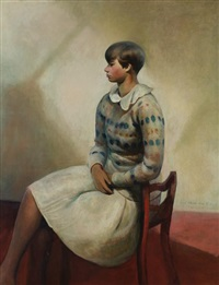 Yvonne in Camp Chair, 1930–1932