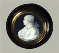 portrait d'un homme de qualité au ruban bleu by françois hippolyte desbuisson dit hipolite
