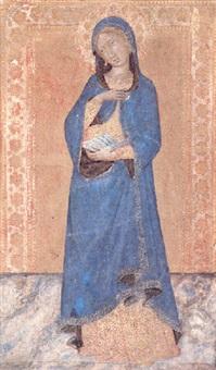 the virgin annunciate by naddo ceccarelli