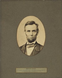 portrait of abraham lincoln by alexander gardner