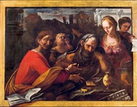 after the banquet (vanitas humanae vitae) by pietro paolini