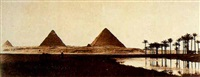 le caire, pyramides de gizeh by james graham