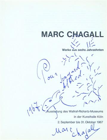 Werke Aus Sechs Jahrzehnten By Marc Chagall On Artnet