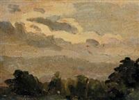 paesaggio dell'entroterra ligure by alberto helios gagliardo
