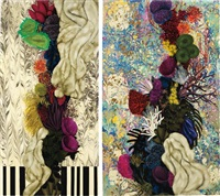 untitled (diptych) by mariana palma