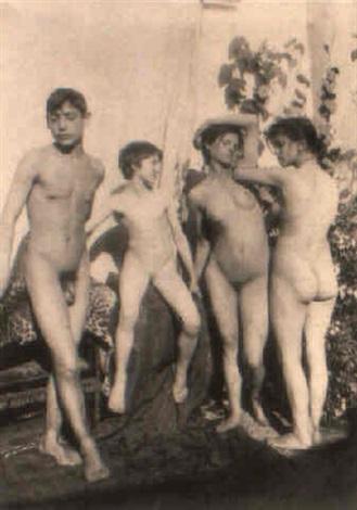 Photos de garçons et de filles nus