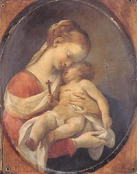 madonna and child by lubin baugin
