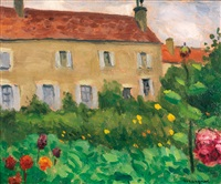 le manoir d'ousson, loire by albert marquet