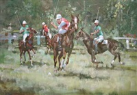 the polo match by james le jeune
