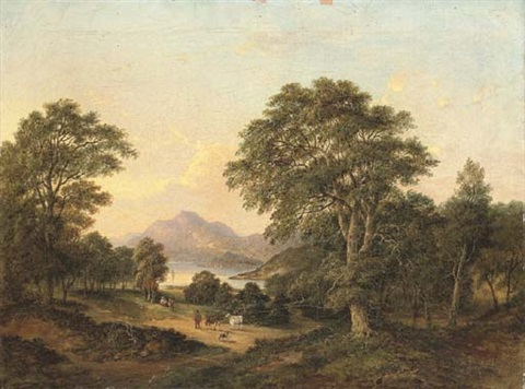 near loch lomond dumbarton by jane nasmyth