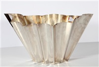 vaso ventaglio by lino sabattini