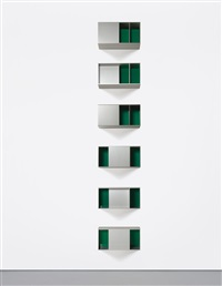 untitled (88-27 menziken) (in 6 parts) by donald judd