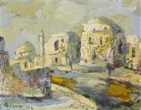 landscape of jerusalem by albert goldman