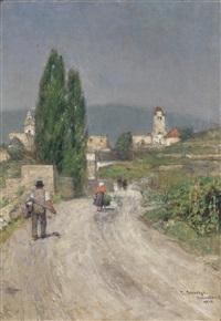 dürnstein im jahre 1918 by emil strecker