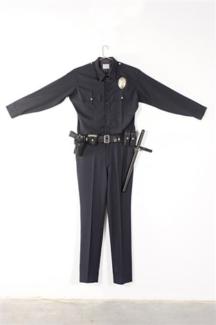 lapd uniform by chris burden