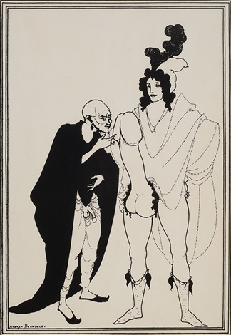 the examination of the herald by aubrey vincent beardsley