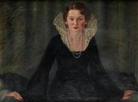 portret franciszki mayer by felicja wierzbicka