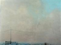 paysage de brûme by denis riviere