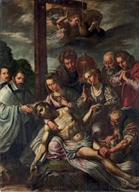 the lamentation with donors by marten pepyn
