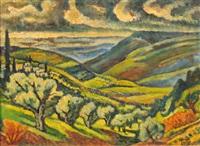 galilean landscape by arie alweil