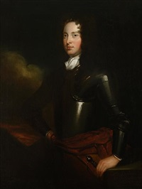 portrait of george dunbar of mocham in armour by scottish school (18)
