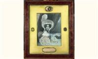 portrait de la reine hortense by felix cottrau