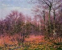 l'orée de la forêt by charles frechon